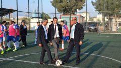 tcdd izmir bolge geleneksel hali saha futbol turnuvasi basladi
