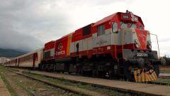 kosovada son ayda bin kisi ulasimda treni tercih etti