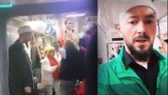 metroda tacize ugrayan cubbeli vatandasa videolu destek